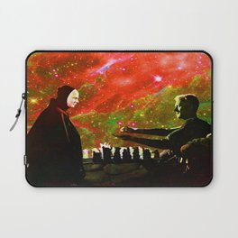 Playing chess with Death Laptop Sleeve