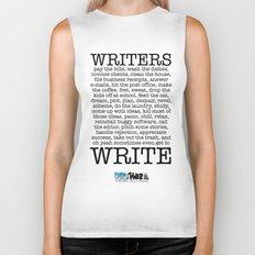 WRITERS WRITE! Biker Tank