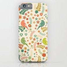 Vector Floral Pattern Slim Case iPhone 6s