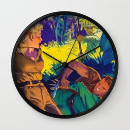 Hugh Joseph Ward - The Dawn Tide - Digital Remastered Edition Wall Clock