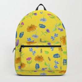 Flowers-Perennials Backpack