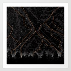 Slopes Art Print