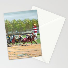 Stay In The Race Stationery Cards