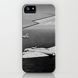B-17F Flying Fortress Bombers over the Southwest Pacific iPhone Case