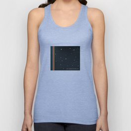 We are floating in space Unisex Tank Top