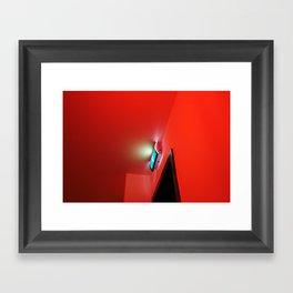 2007 - Exit In Red Framed Art Print
