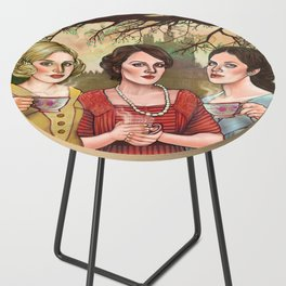 The Crawley Sisters Side Table