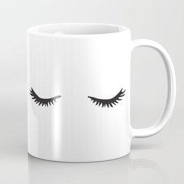 Lashes Coffee Mug