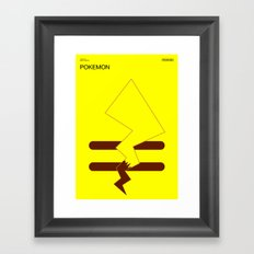 Poster Nintendo Pokemon Framed Art Print