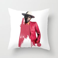 Theophilus London Throw Pillow