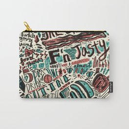 ChiliPot Pattern 3 Carry-All Pouch