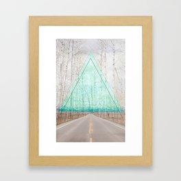 road-trip Framed Art Print
