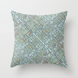 Pipe nightmares Throw Pillow