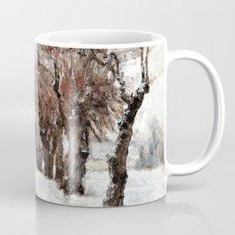 Winter in Munich - Theodore Clement Steele Coffee Mug