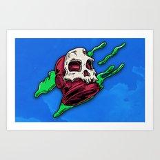 Skully... Art Print