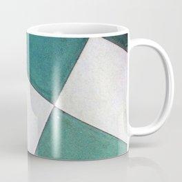 Teal Tiles Coffee Mug