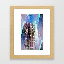 citylines -7- Framed Art Print