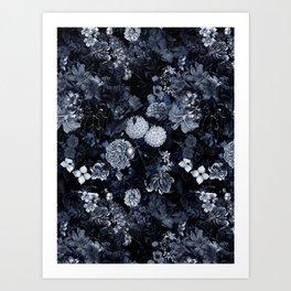 EXOTIC GARDEN - NIGHT VII Art Print