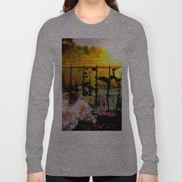 Sunset Balcony Long Sleeve T-shirt