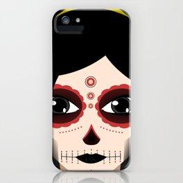 El Dia De Los Muertos Geisha  iPhone Case
