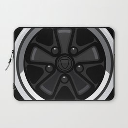 Wheel Design Retro Fuchs Felge Laptop Sleeve