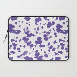Purple splash Laptop Sleeve