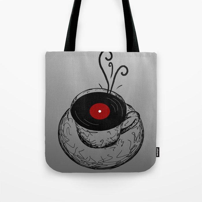 Music & Tea Tote Bag