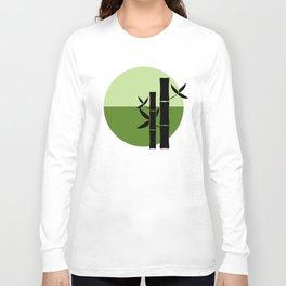 Bamboo on the horizon Long Sleeve T-shirt