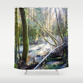 South Fork Shower Curtain