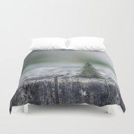 Tree by tree Duvet Cover