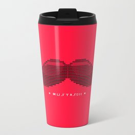 Mustascii Metal Travel Mug