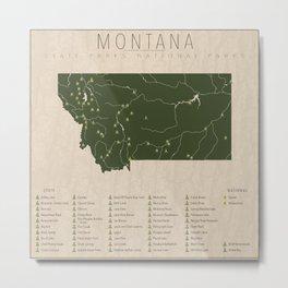 Montana Parks Metal Print