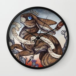 the Prince of a Thousand Enemies Wall Clock