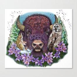 Glorious & Free Canvas Print