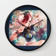 Chun Li Wall Clock