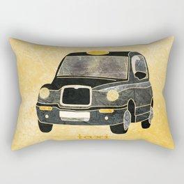 Taxi please Rectangular Pillow