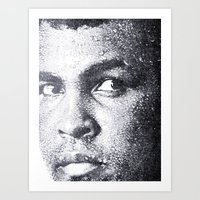 ali Art Prints featuring Ali by Paul Charles Kopp