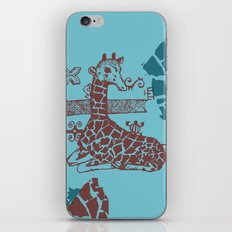 Giraffa camelopardalis iPhone & iPod Skin