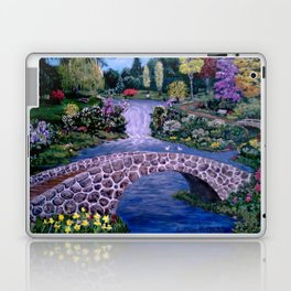 My Garden - by Ave Hurley Laptop & iPad Skin