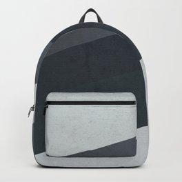 Geometric Stripes Pattern Backpack