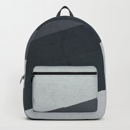 Geometric Stripes Pattern Backpack