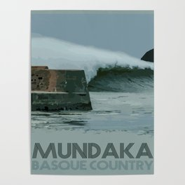 Mundaka Basque Country Poster