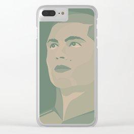 Cristiano Ronaldo Clear iPhone Case