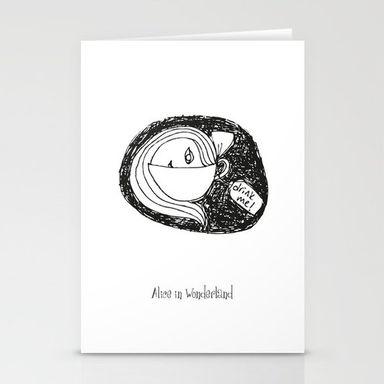 Alice I Stationery Cards