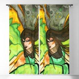 Elfrida The Brave Fairy Close-Up Blackout Curtain