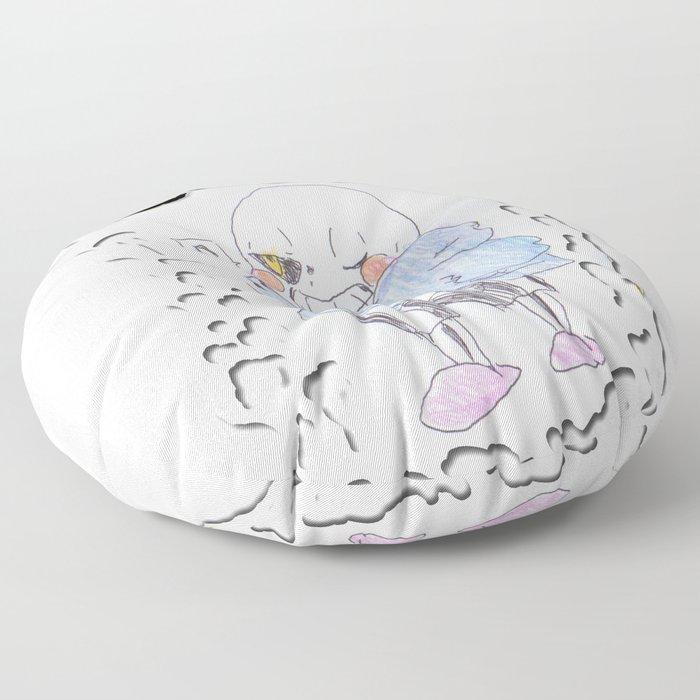 Sans - Undertale Friends -Pen Drawn Floor Pillow