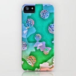 Frozen Ivy Berries. iPhone Case
