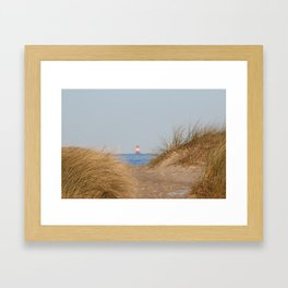 At the beach 10 Framed Art Print