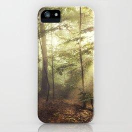 german rain forest iPhone Case