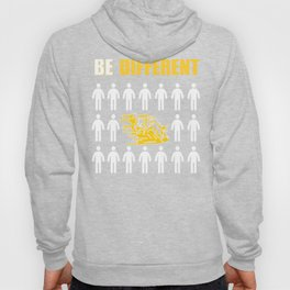 Motorcycler Gift Be Different Hoody